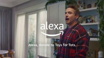 Amazon Echo TV Spot, 'Dolittle: Donate to Toys for Tots with Alexa' Ft. Robert Downey Jr. - Thumbnail 10