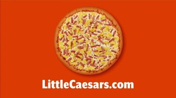 Little Caesars Pizza TV Spot, 'Order Online and Get Free Crazy Bread' - Thumbnail 1