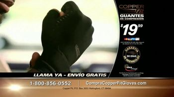 Copper Fit Compression Gloves TV Spot, 'Cuando te duelen las manos' [Spanish] - Thumbnail 10