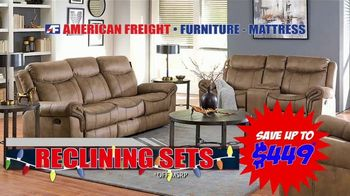 American Freight TV Spot, 'Ready, Set, Save Big: Sofas'