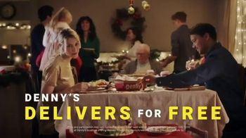 Denny's TV Spot, 'Holidays: December Free Delivery'