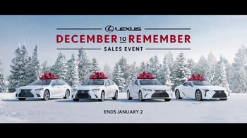 Lexus December To Remember Sales Event TV Spot, 'The Bow Shuffle' [T1] - Thumbnail 9
