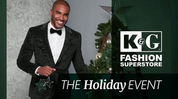 K&G Fashion Superstore Holiday Event TV Spot, 'Men's Suits and Dress Shirts'