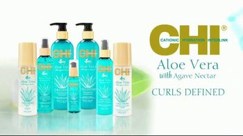 CHI Aloe Vera With Agave Nectar TV Spot, 'Nourishes' Featuring Cheslie Kryst - Thumbnail 6