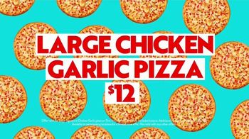 Papa Murphy's Chicken Garlic Pizza TV Spot, 'Put Your Sweatpants On: $12' - Thumbnail 8