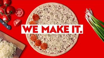 Papa Murphy's Chicken Garlic Pizza TV Spot, 'Put Your Sweatpants On: $12' - Thumbnail 9