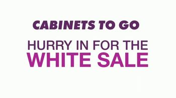 Cabinets To Go White Sale TV Spot, '30 Percent Off White Cabinet Collections' - Thumbnail 1