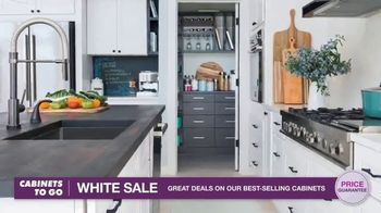 Cabinets To Go White Sale TV Spot, '30 Percent Off White Cabinet Collections'