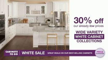 Cabinets To Go White Sale TV Spot, '30 Percent Off White Cabinet Collections' - Thumbnail 4