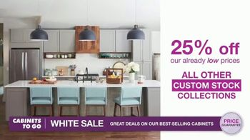 Cabinets To Go White Sale TV Spot, '30 Percent Off White Cabinet Collections' - Thumbnail 5
