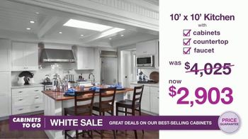 Cabinets To Go White Sale TV Spot, '30 Percent Off White Cabinet Collections' - Thumbnail 7