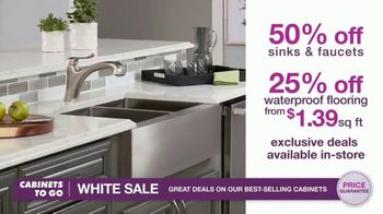 Cabinets To Go White Sale TV Spot, '30 Percent Off White Cabinet Collections' - Thumbnail 8