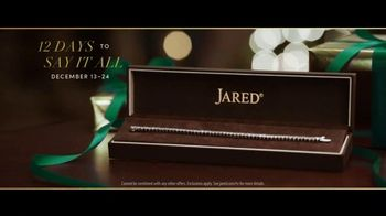 Jared 12 Days to Say It All TV Spot, 'A Gift That Says It All: Thank You For Everything' - Thumbnail 9