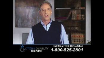 Citizens Disability Helpline TV Spot, 'Social Security Benefits'
