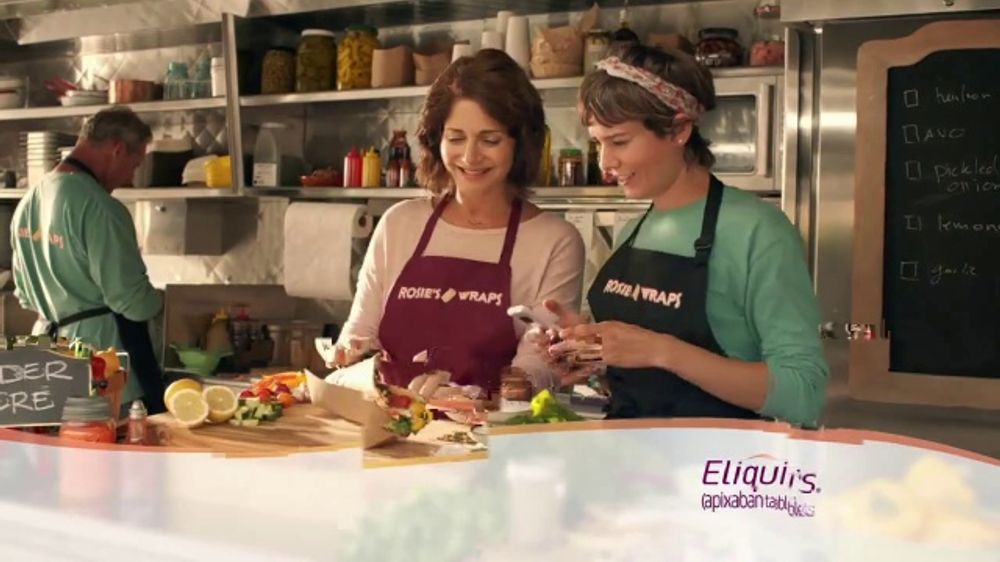 ELIQUIS TV Commercial, 'Around the Corner: Food Truck'