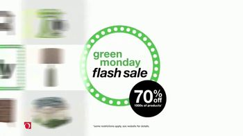 Overstock.com Green Monday Flash Sale TV Spot, 'Rugs and Furniture'