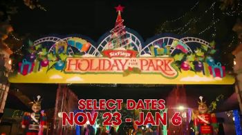 Six Flags Holiday in the Park TV Spot, '70 Percent Off 2020 Season Passes' - Thumbnail 1