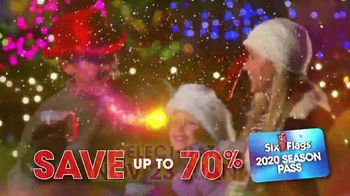 Six Flags Holiday in the Park TV Spot, '70 Percent Off 2020 Season Passes' - Thumbnail 8