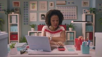 1-800 Contacts TV Spot, 'We See You, Shauna: Use Your FSA'