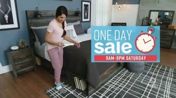 Ashley HomeStore One Day Sale TV Spot, 'Doorbusters: Upholstered Sofas' Song by Midnight Riot