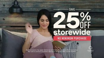 Ashley HomeStore One Day Sale TV Spot, 'Doorbusters: Upholstered Sofas' Song by Midnight Riot - Thumbnail 4