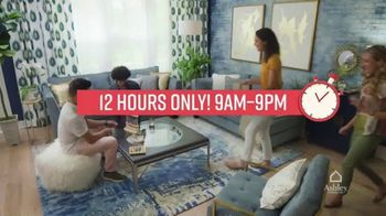 Ashley HomeStore One Day Sale TV Spot, 'Doorbusters: Upholstered Sofas' Song by Midnight Riot - Thumbnail 6