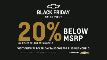 Chevrolet Black Friday Sales Event TV Spot, 'Lots to Love' [T2] - Thumbnail 9