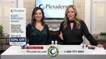 Plexaderm Skincare Holiday Special TV Spot, 'Samantha: 10-Minute Challenge'