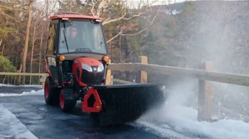 Kubota BX Tractor TV Spot, \'Snow Piles Up Quickly\'