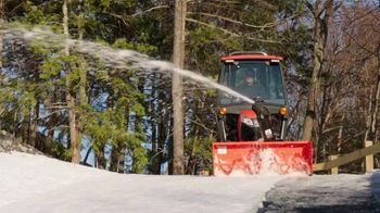 Kubota BX Tractor TV Spot, 'Snow Piles Up Quickly' - Thumbnail 3
