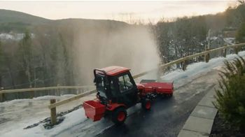 Kubota BX Tractor TV Spot, 'Snow Piles Up Quickly' - Thumbnail 6