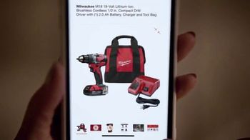 The Home Depot TV Spot, 'Holidays: Milwaukee and Dewalt Drill Kit' - Thumbnail 3