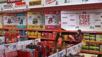 The Home Depot TV Spot, 'Holidays: Milwaukee and Dewalt Drill Kit' - Thumbnail 5
