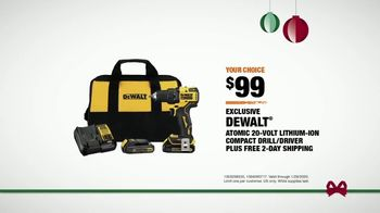 The Home Depot TV Spot, 'Holidays: Milwaukee and Dewalt Drill Kit' - Thumbnail 9
