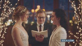 Zola TV Spot, 'Free Custom Wedding Websites' - Thumbnail 1