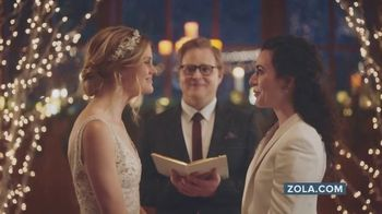 Zola TV Spot, 'Free Custom Wedding Websites'