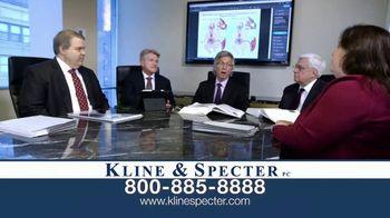 Kline & Specter TV Spot, 'Five Doctor Lawyers: Settlements' - Thumbnail 1