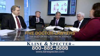 Kline & Specter TV Spot, 'Five Doctor Lawyers: Settlements' - Thumbnail 2