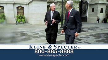 Kline & Specter TV Spot, 'Five Doctor Lawyers: Settlements' - Thumbnail 4