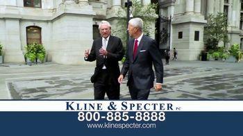 Kline & Specter TV Spot, 'Five Doctor Lawyers: Settlements'