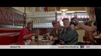 GreatCall Holiday Savings TV Spot, 'Jitterbug flip: Dad'