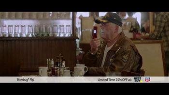 GreatCall Holiday Savings TV Spot, 'Jitterbug flip: Dad' - Thumbnail 3