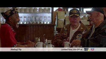 GreatCall Holiday Savings TV Spot, 'Jitterbug flip: Dad' - Thumbnail 6
