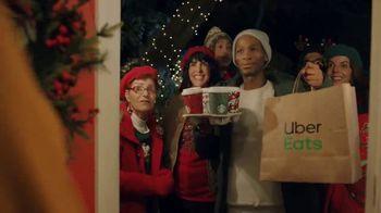 Uber Eats TV Spot, 'Holidays: Starbucks: Carolers'