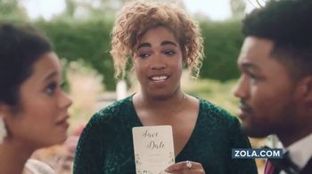 Zola TV Spot, 'Hashtag Alex Gets Married' - Thumbnail 2