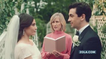 Zola TV Spot, 'Hashtag Alex Gets Married' - Thumbnail 7