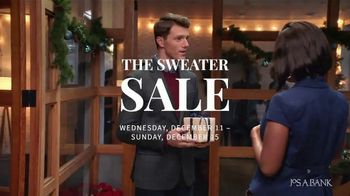 JoS. A. Bank Sweater Sale TV Spot, 'A Warm Reception'