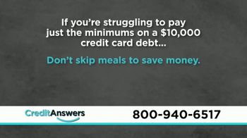 CreditAnswers TV Spot, 'Consumer Alert: Protect Yourself' - Thumbnail 2
