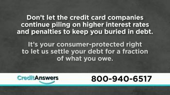CreditAnswers TV Spot, 'Consumer Alert: Protect Yourself' - Thumbnail 4