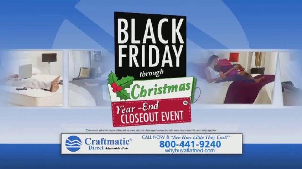 Craftmatic Black Friday Through Christmas Year-End ...